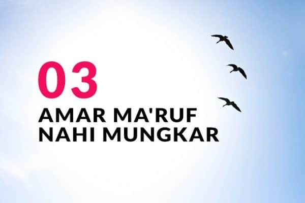 Amar Ma'ruf Nahi Mungkar (Bag. 3)
