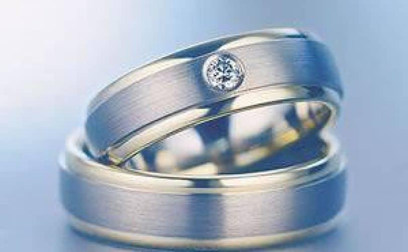 Cincin Emas dan Perak bagi Pria