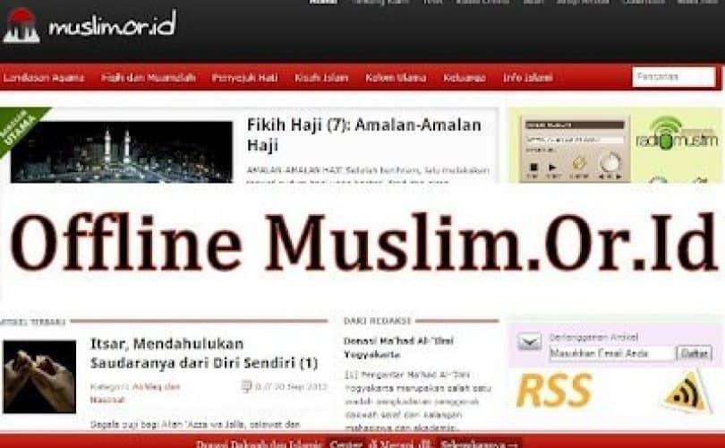 Download Ebook Website Offline Muslim.Or.Id