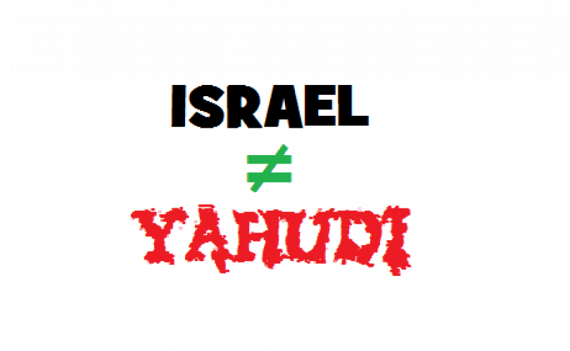 Israel dan Celaan pada Yahudi