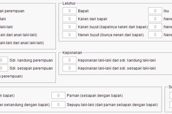 Aplikasi Penghitung Waris At-Tashil Online
