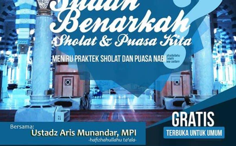 Kajian Intensif Spesial Ramadhan (Yogyakarta, 1-20 Ramadhan 1435 H)