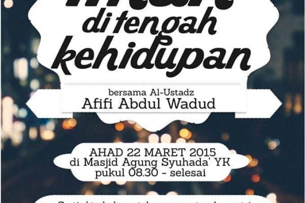 Kajian Rutin Pelajar #14 (Yogyakarta, 22 Maret 2015)