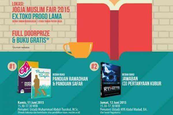 Bukan Bedah Buku Biasa (Yogyakarta, 23-28 Sya'ban 1436H)