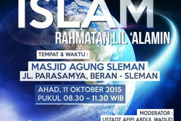 Tabligh Akbar Bersama Ustadz Abdul Hakim bin  Amir Abdat (Yogyakarta, 11 Oktober 2015)