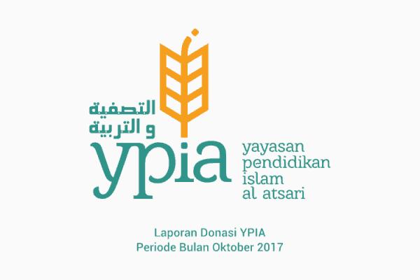 Laporan Donasi YPIAperiodeBulan Oktober 2017
