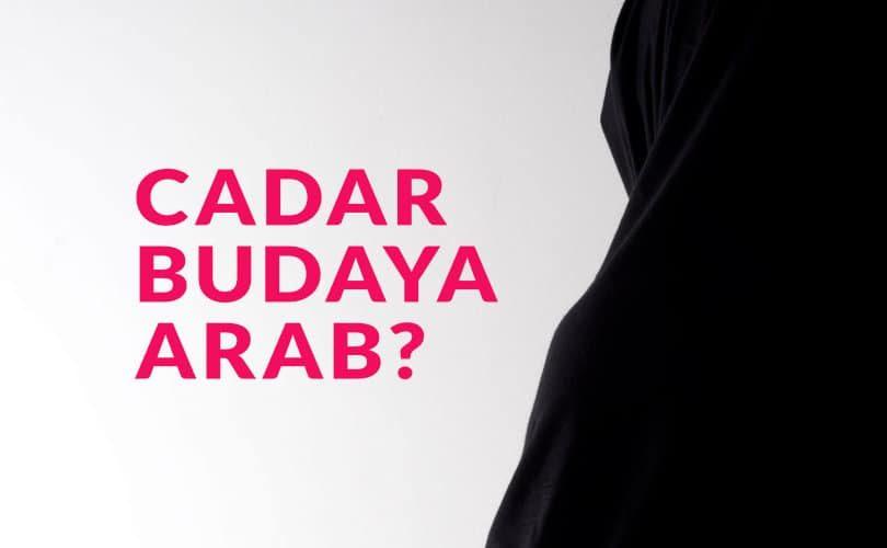 Benarkah Cadar Budaya Arab?