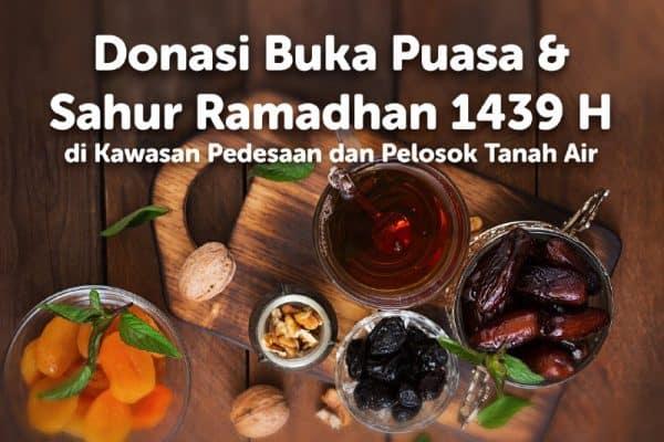 Donasi Buka Puasa & Sahur Ramadhan 1439 / 2018