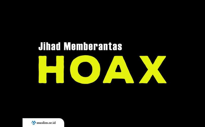 jihad memberantas hoax