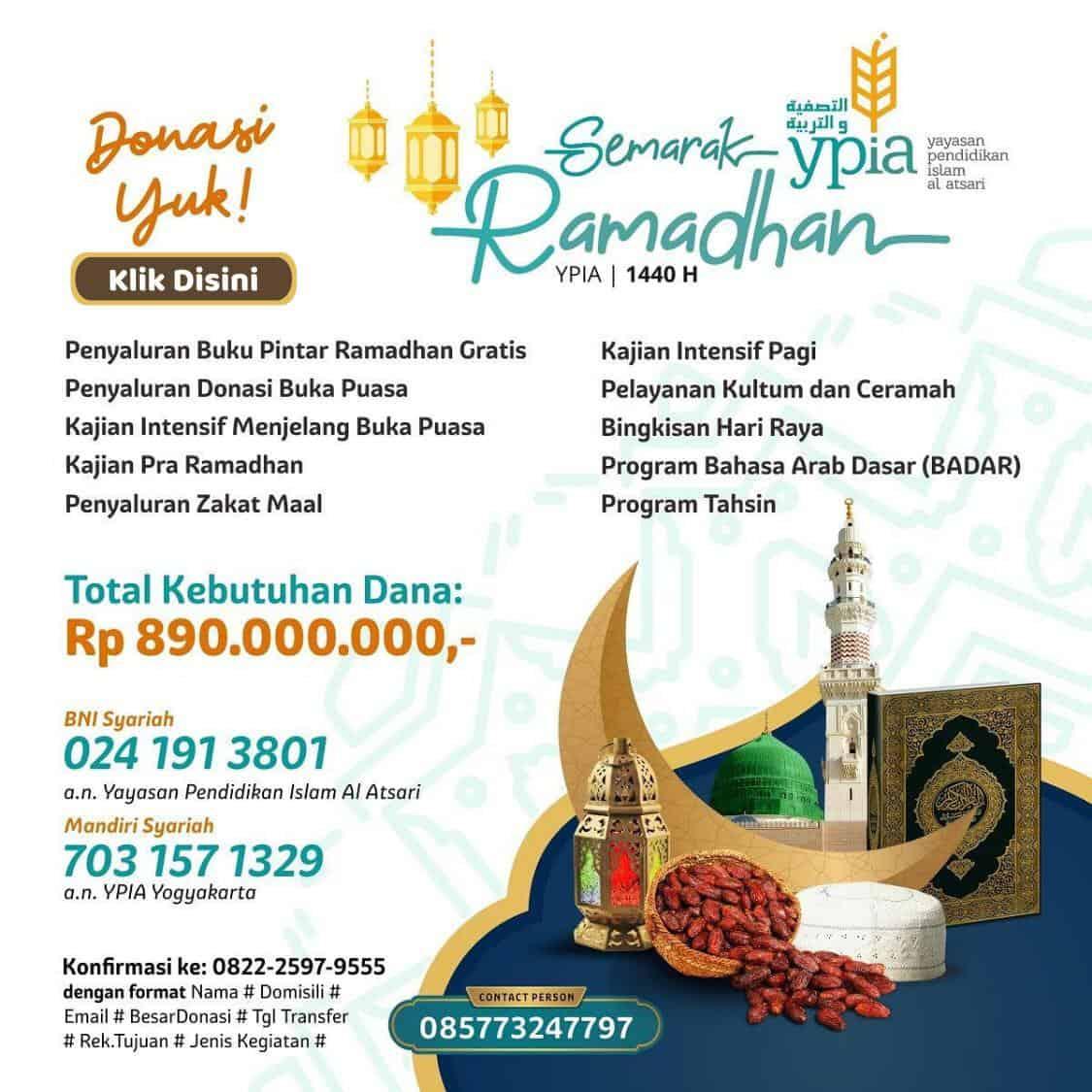 donasi ramadhan ypia