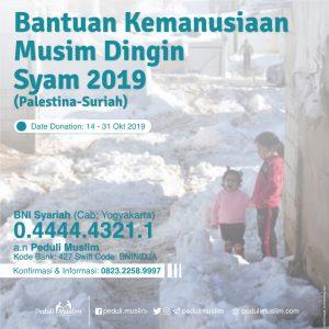 Syam Winter Project 2019