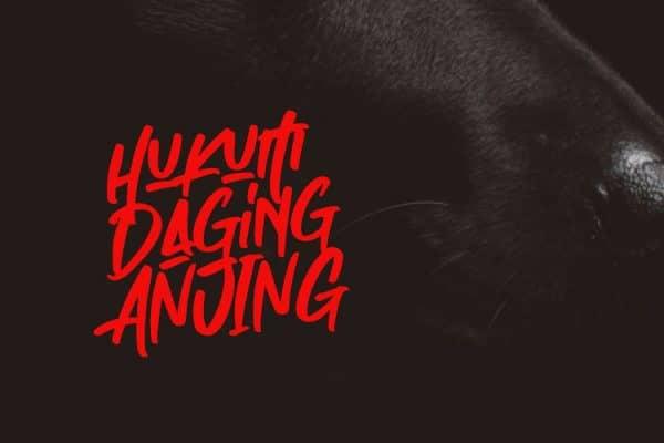Haramnya Daging Anjing