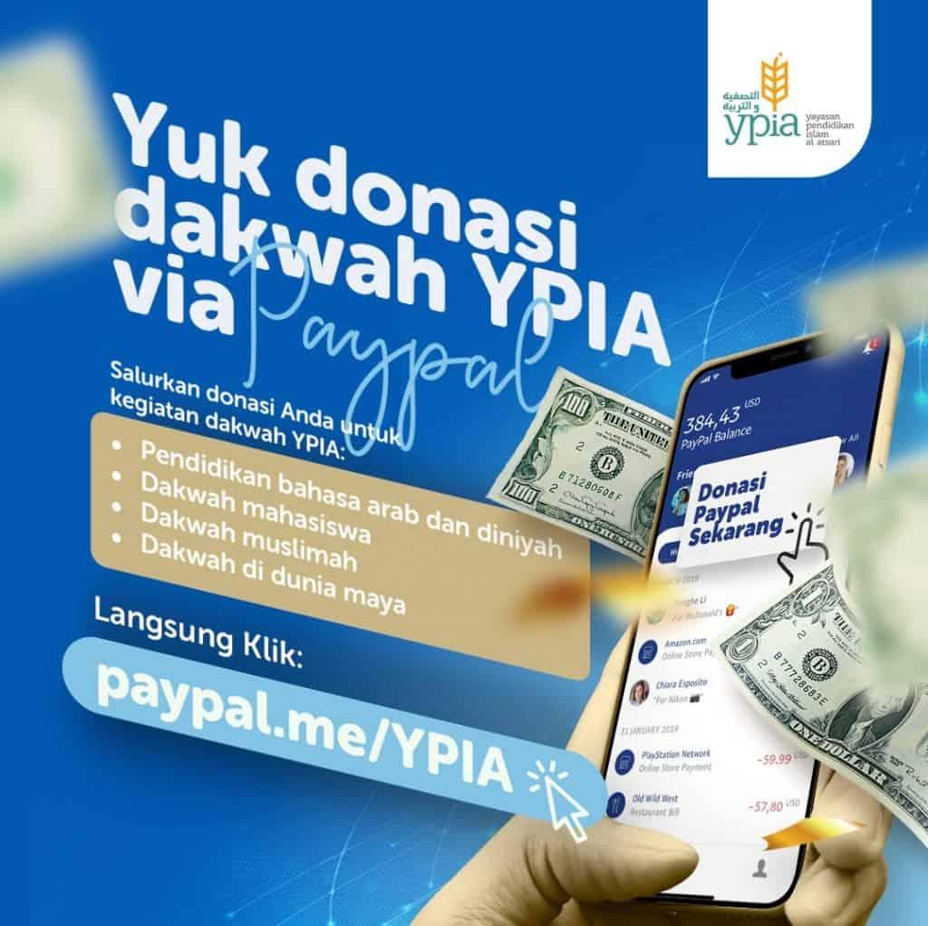 Donasi Via Paypal