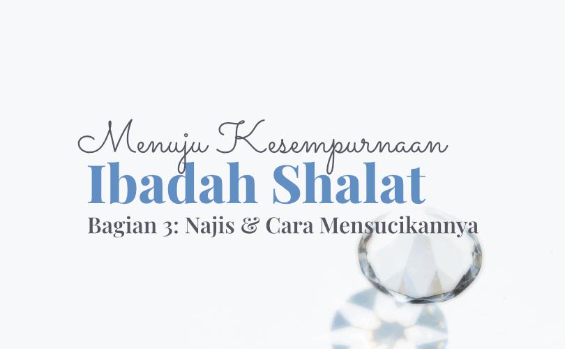 Menuju Kesempurnaan Ibadah Shalat (Bag. 3): Najis dan Cara Menyucikannya