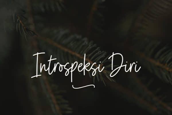 Introspeksi Diri Muslim