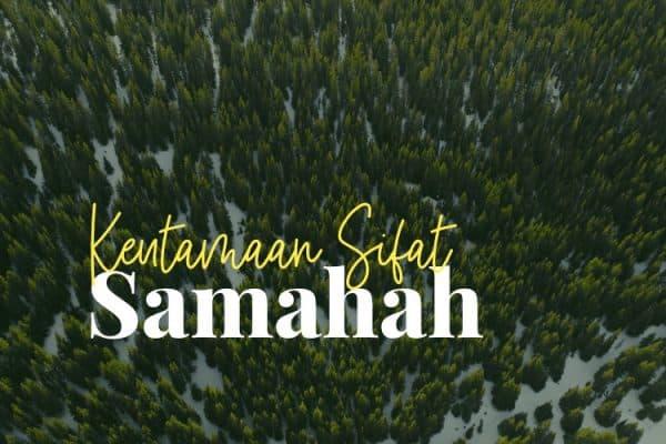 Sifat Samahah