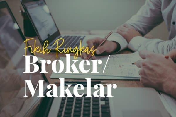 Fikih Hukum Makelar Broker