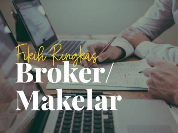 Fikih Ringkas Seputar Profesi Broker atau Makelar